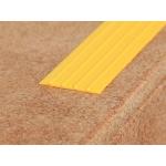 ЕВРОСТУПЕНЬ Н (28х4х12000 мм.), самоклеющаяся накладка, желтый